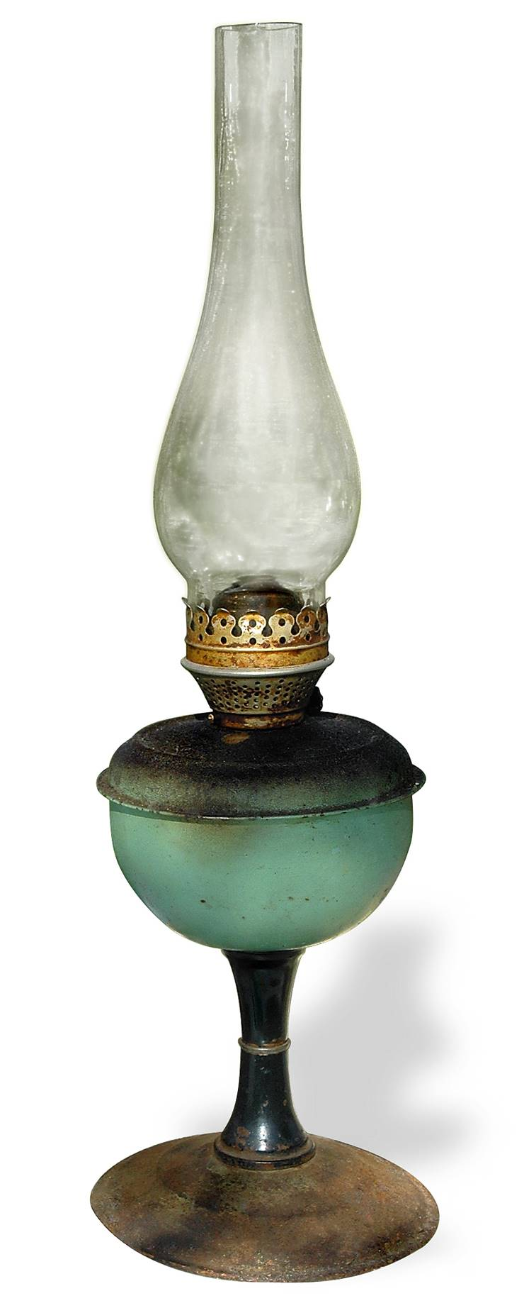 Old Kerosene Lamp
